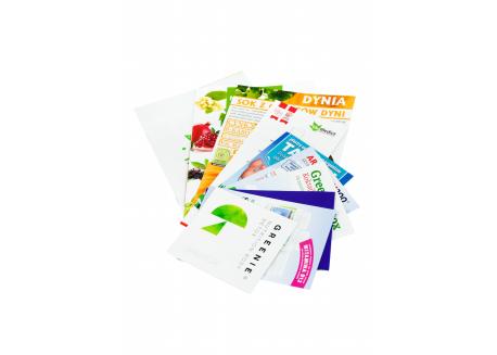 Pakiet ulotek produktowych i broszur informacyjnych
