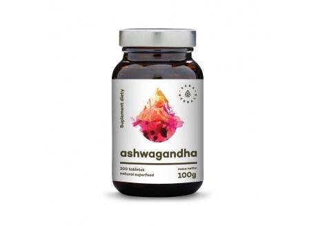 Korzeń Ashwagandha 100 g (200 tabl.)