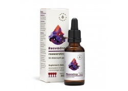 Resvadrop - Resveratrol w kroplach (30 ml) Aura Herbals
