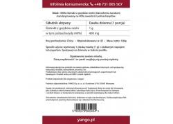 Reishi - ekstrakt 40% polisacharydów (100 g)