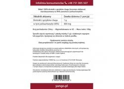 Chaga - ekstrakt 40% polisacharydów (100 g)