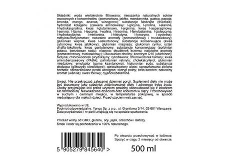 Włosy, Skóra, Paznokcie - multiwitamina (500 ml)