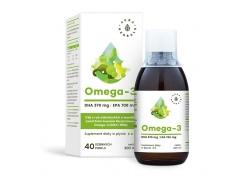 Omega-3 (370 DHA i 700 EPA) w płynie (200ml)