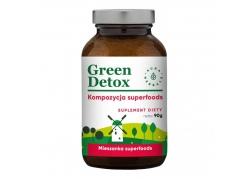 Green Detox - kompozycja superfoods - proszek (90 g)