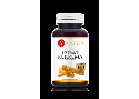 Kurkuma - ekstrakt + piperyna (60 kaps.)