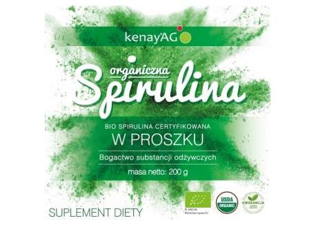 EKO Organiczna Spirulina (200 g)