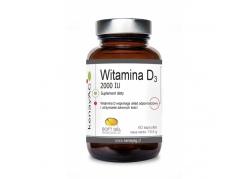 Witamina D3 2000 IU (60 kaps.)