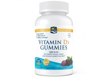 Vitamin D3 Gummies 1000 IU (120 żelek)