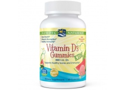 Vitamin D3 Gummies Kids 400 IU (60 żelek)