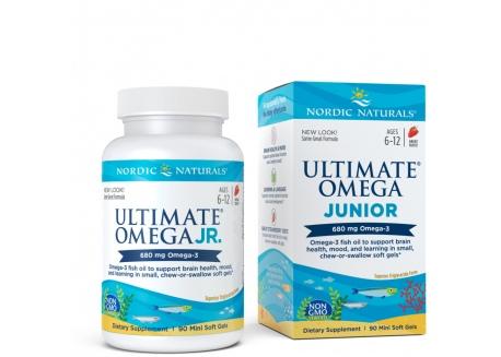 Ultimate Omega Junior 340 mg (90 kaps.)