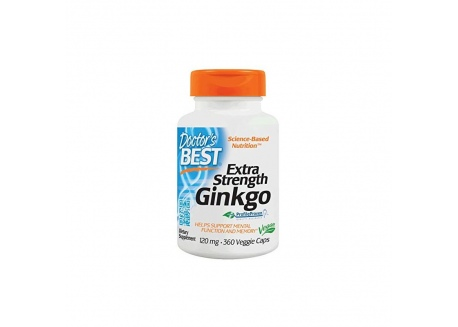 Ginkgo Biloba ekstrakt (360 kaps.)