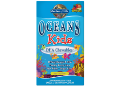 Omega Oceans Kids DHA Chewables (120 kaps.)