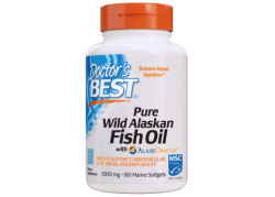 Pure Wild Alaskan Fish Oil (180 kaps.)