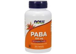 PABA - Kwas Para-Aminobenzoesowy 500 mg (100 kaps.)