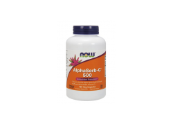 Neutralna Witamina C (Askorbinian Wapnia) - AlphaSorb-C 500 mg (180 kaps.)