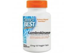 Lumbrokinase - Lumbrokinaza 20 mg (60 kaps.)