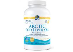 Arctic Cod Liver Oil Lemon (180 kaps.)