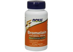 Bromelaina 2400 GDU 500 mg (60 kaps.)