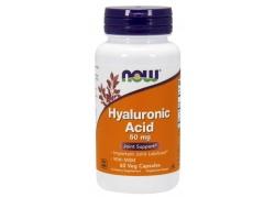 Hyauluronic Acid with MSM - Kwas Hialuronowy 50 mg + MSM 450 mg (60 kaps.)
