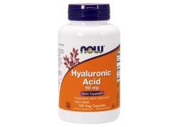 Hyauluronic Acid with MSM - Kwas Hialuronowy 50 mg + MSM 450 mg (120 kaps.)