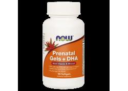 Prenatal Gels + DHA - Witaminy i Minerały Prenatalne + DHA (90 kaps.)