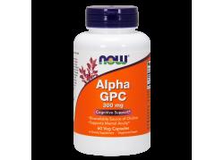 Alpha GPC 300 mg - L-Alfa-Glicerylofosforylocholina (60 kaps.)