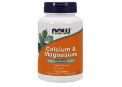 Calcium & Magnesium 2:1 - Wapń + Magnez (100 tabl.)