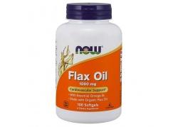 Flax Oil 1000 mg - Olej lniany (100 kaps.)
