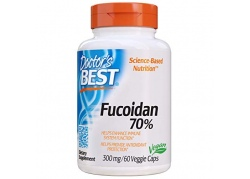 Fucoidan 70% - Ekstrakt Fucoidanu 300 mg (60 kaps.)