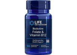 BioActive Foliany i Witamina B12 (90 kaps.)