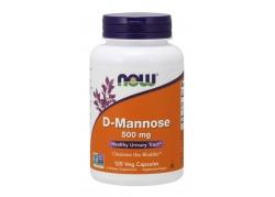 D-mannoza 500 mg (120 kaps.)