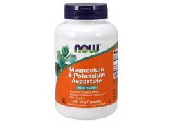 Magnesium & Potassium Aspartate - Magnez, Tauryna i Potas (120 kaps.)