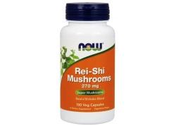 Rei-Shi Mushrooms - Reishi i Shiitake 270 mg (100 kaps.)