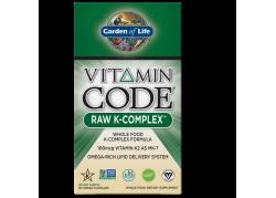 Vitamin Code RAW K-Complex - Witamina K1 + Witamina K2 MK4 + Witamina K2 MK7 (60 kaps.)