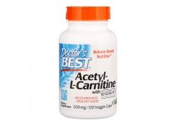 Acetyl L-Karnityna HCI 500 mg (120 kaps.)