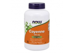 Cayenne - Pieprz kajeński 500 mg (250 kaps.)