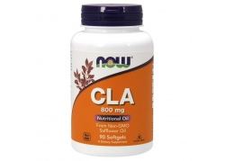 CLA 800 mg - sprzężony Kwas Linolowy z oleju z Nasion Krokosza (90 kaps.)