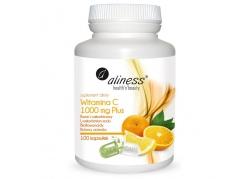 Witamina C 1000 mg plus Bioflawonoidy, Rutyna, Acerola (100 kaps.)