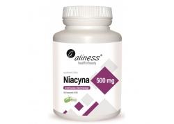 Witamina B3 - Niacyna 500 mg (100 kaps.)