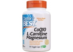 Koenzym Q10 + L-Karnityna + Magnez (90 kaps.)