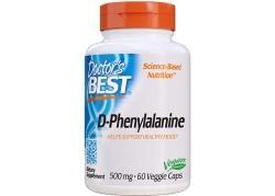 D-Phenylalanine - D-Fentyloalanina 500 mg (60 kaps.)