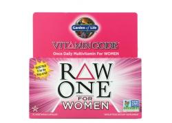 Vitamin Code RAW One for Women - Zestaw Witamin i Minerałów dla Kobiet (75 kaps.)
