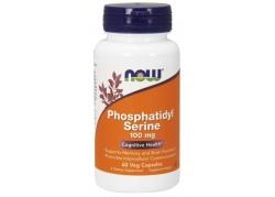 Phosphatidyl Serine - Fosfatydyloseryna 100 mg (60 kaps.)