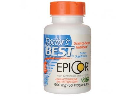 EpiCor - Saccharomyces Cerevisiae 500 mg (60 kaps.)
