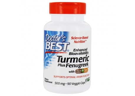 Kurkuma + Kozieradka CurQfen 500 mg (90 kaps.)