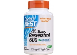 Trans-Resveratrol 600 mg (60 kaps.)