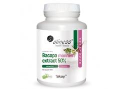 Bakopa (Brahmi) 500 mg - Bacopa Monnieri 50% bakozydów (100 kaps.)