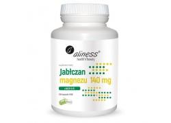 Jabłczan Magnezu 140 mg + Witamina B6 (P-5-P) 5 mg (100 kaps.)