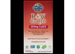 RAW CoQ10 - Koenzym Q10 200 mg (60 kaps.)