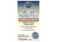 RAW Probiotics Women 50 & Wiser (90 kaps.)